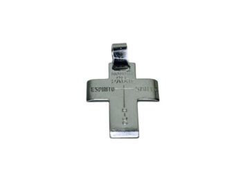Cruz Padre,hijo,Espíritu Santo 35mm. metal