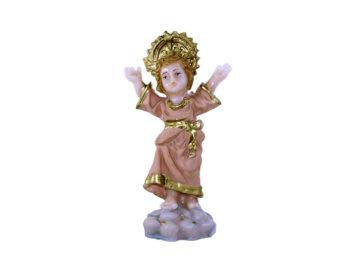 Estatua Divino Niño 9cm PVC