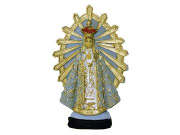 Estatua Virgen de Luján 12cm PVC