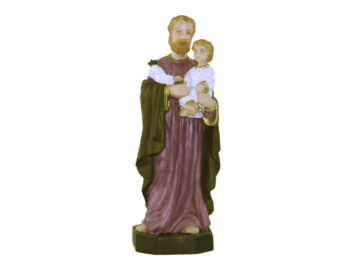 Estatua San José 15cm PVC