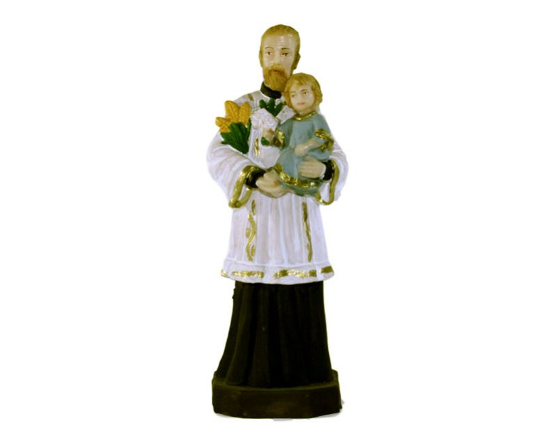 Estatua San Cayetano 15cm PVC