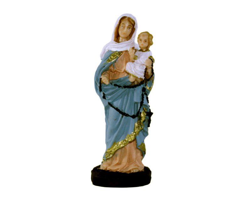 Estatua Rosario de San Nicolás 15cm. PVC