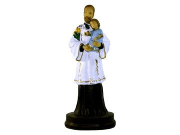 Estatua San Cayetano 22cm PVC