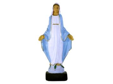 Estatua Virgen Milagrosa 22cm PVC