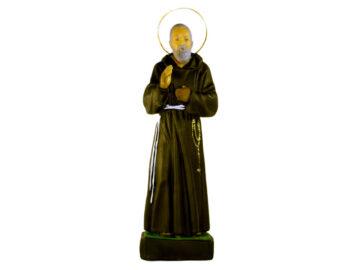 Estatua Padre Pio 30cm PVC