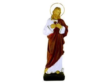 Estatua Corazón de Jesús 30cm PVC