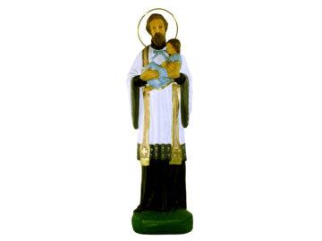 Estatua San Cayetano 30cm PVC