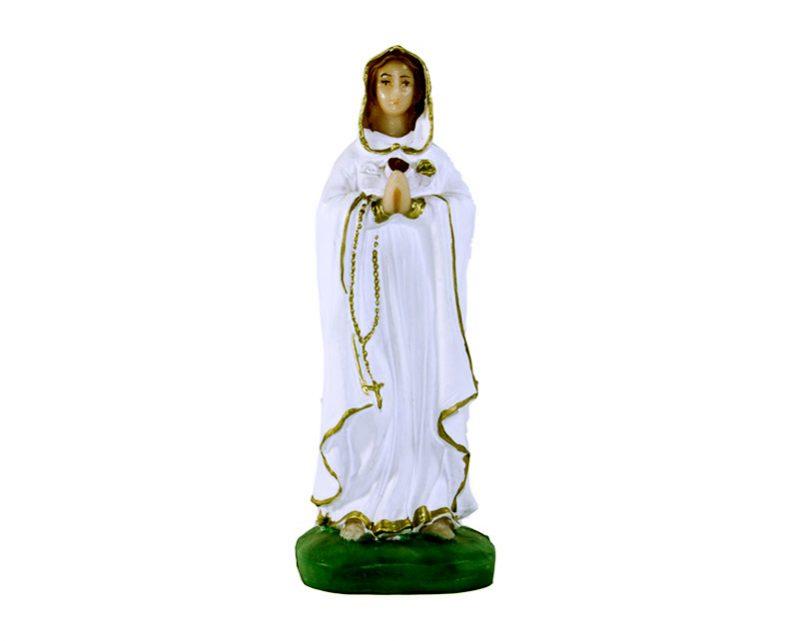 Estatua Rosa Mística 12cm  PVC