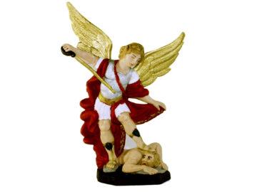 Estatua Miguel Arcángel 15cm PVC