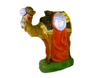 Estatua Camello parado 30cm p/pesebre