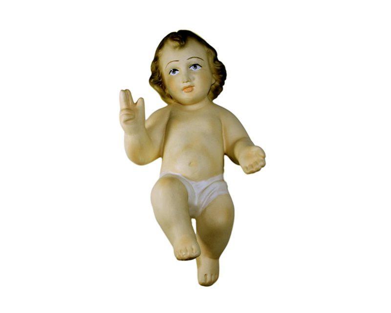 Estatua Niño Jesús yeso 20cm