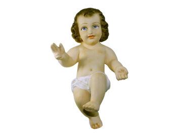 Estatua Niño Jesús yeso 22cm