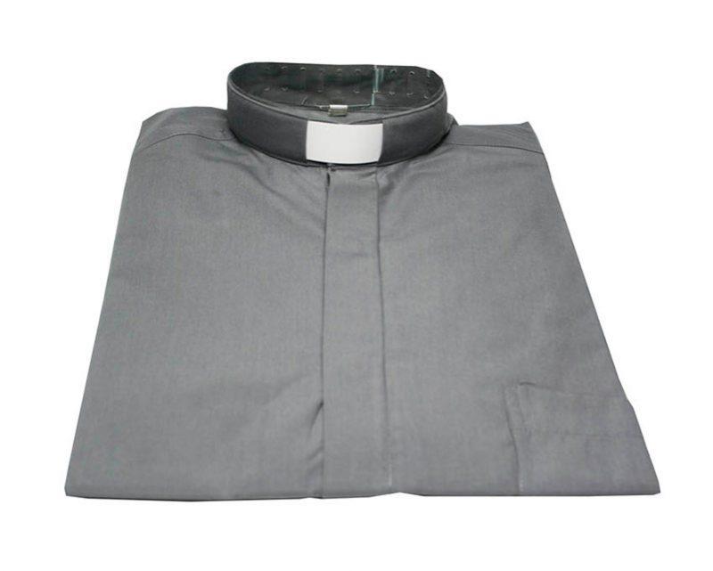 C. de algodón acrocel c/cuello y bolsillo. Color/talle varios