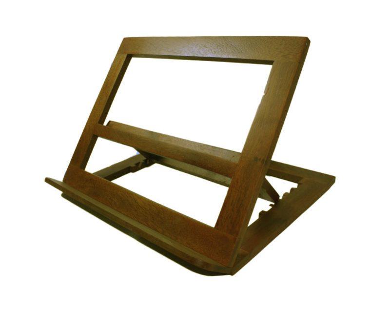 Atril de madera p/altar de 5 posiciones. 32x26cm
