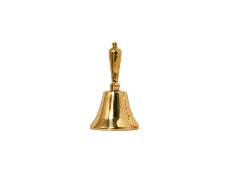 Campanilla bronce Nº5 8cm de diámetro