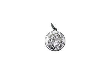 San José. 16mm Medalla de alpaca