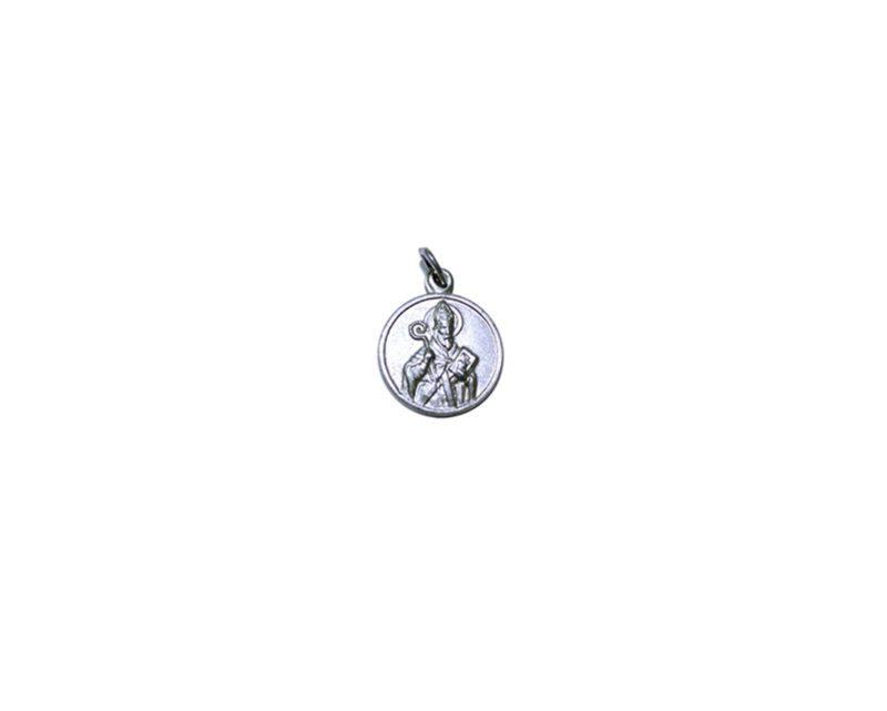San Agustín. 16mm Medalla de alpaca