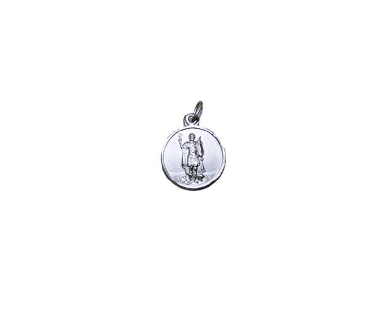 San Expedito. 16mm Medalla de alpaca