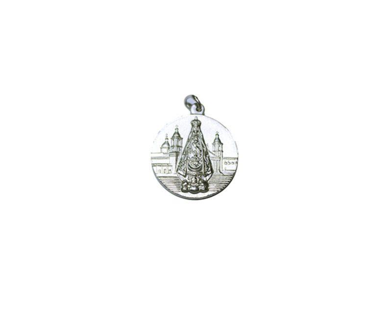 Virgen del Valle. 16mm Medalla de alpaca
