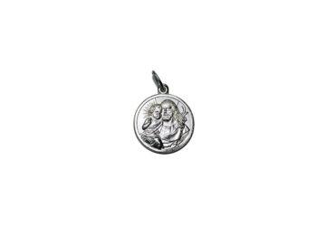 San José. 18mm Medalla de alpaca