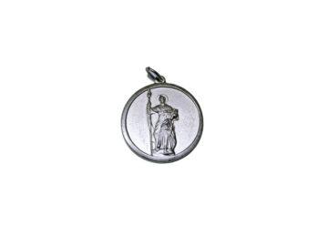 San Judas Tadeo. 26mm Medalla de alpaca