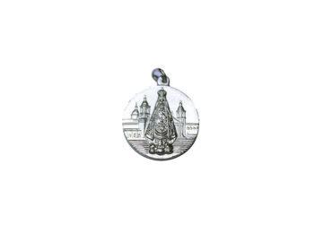 Virgen del Valle. 26mm Medalla de alpaca