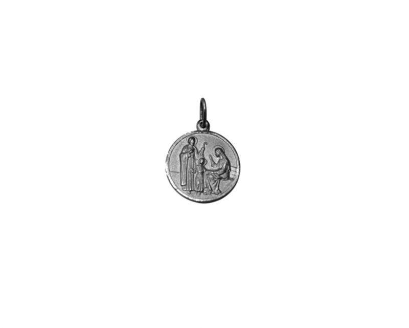 Sagrada Familia. 16mm Medalla de alpaca