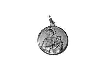 Santa Ana. 30mm Medalla de alpaca
