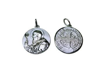 San Benito. 16mm Medalla de alpaca