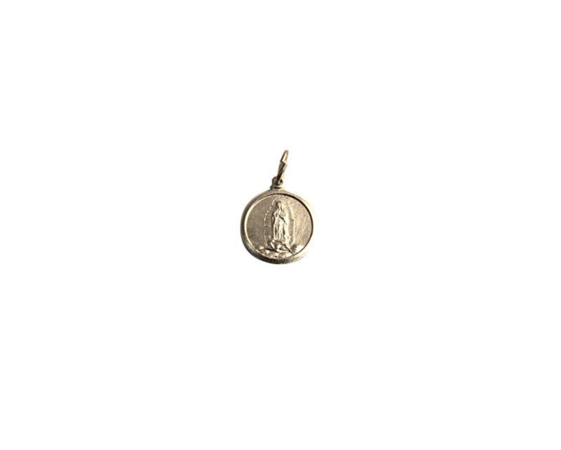 Guadalupe. 16mm x 100u Medalla de aluminio