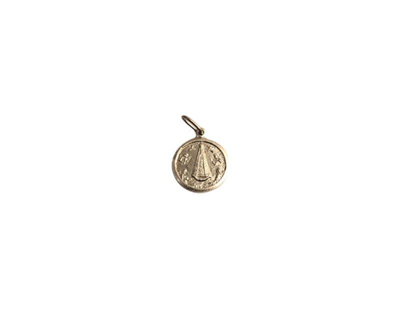 Itati. 16mm x 100u Medalla de aluminio
