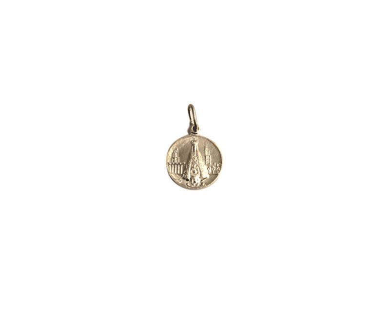 Valle. 16mm x 100u Medalla de aluminio