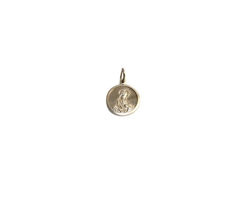 Sagrado Corazón. 16mm x 100u Medalla de aluminio