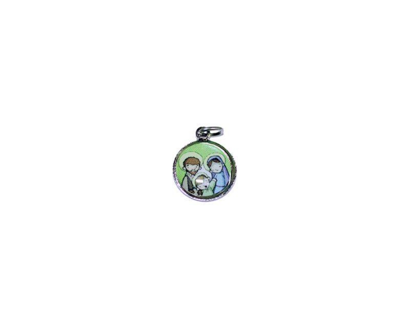 Sagrada Familia. 16mm Medalla de color