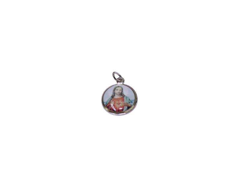 Corazón de Jesús. 16mm Medalla de color