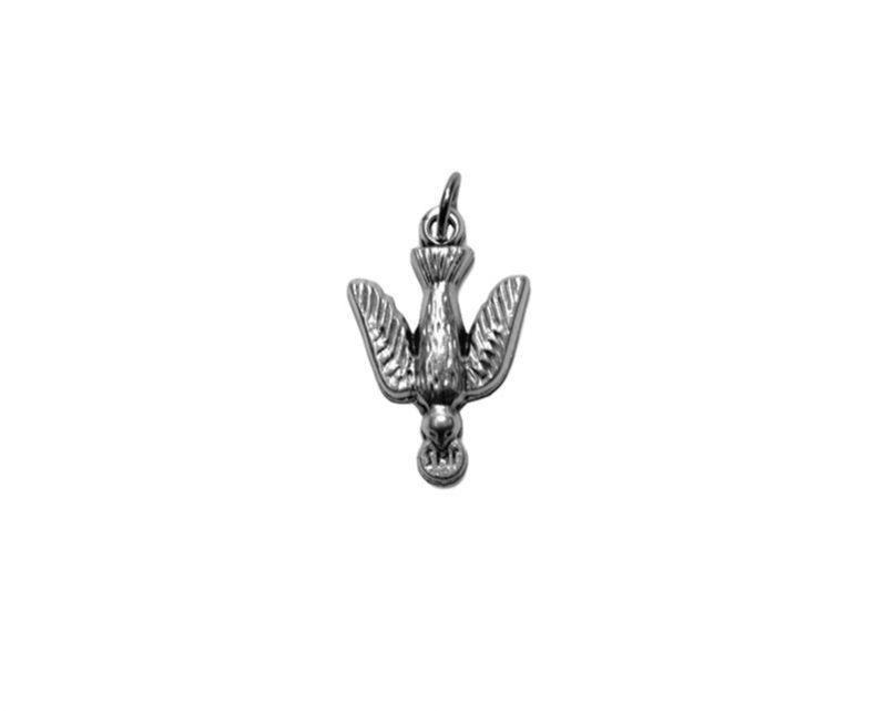 Espíritu Santo paloma Medalla plateada