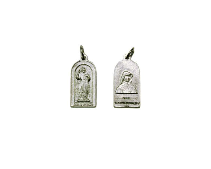 Capilla Jesús Misericordioso Medalla plateada