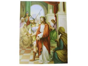 Laminas - Juego de Vía Crucis 20 x 15cm. Italiano