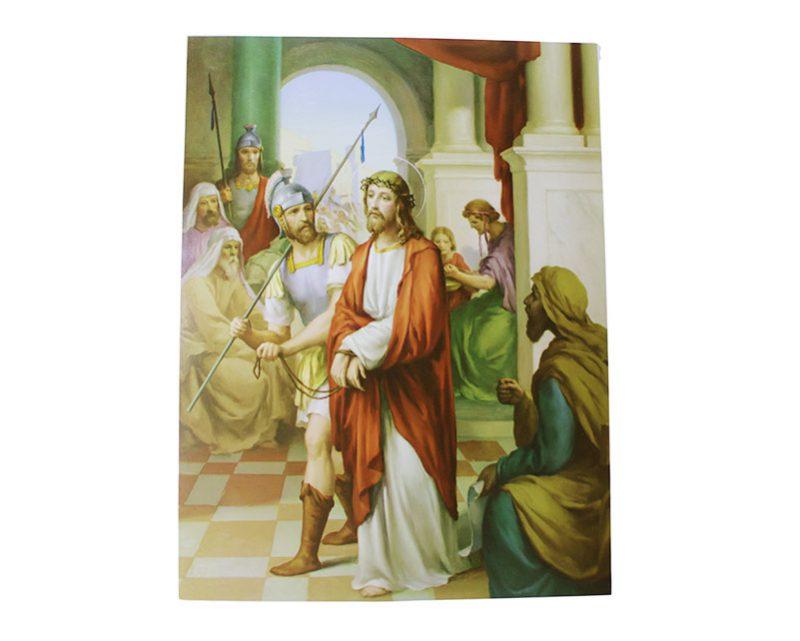 Laminas - Juego de Vía Crucis 30 x 40cm. Italiano