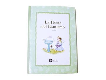 Libro  Álbum de Recuerdo de Bautismo