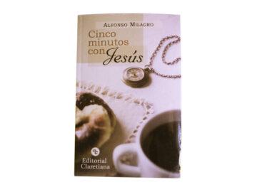 Libro  Cinco Minutos con Jesús