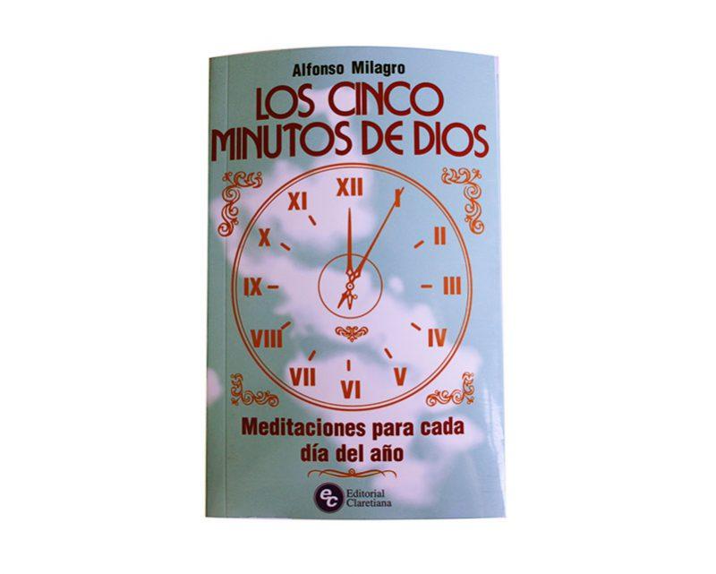 Libro  Los Cinco Minutos de Dios