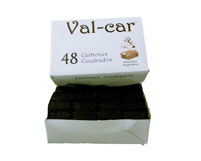 Caja de 48 carbones cuadrados