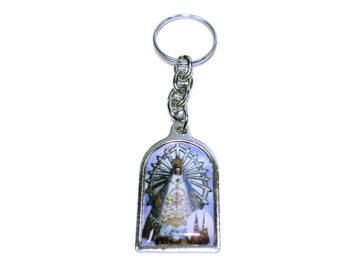 Nuestra Señora de Luján Llavero capilla color