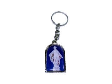 Virgen de la Sonrisa Llavero capilla color