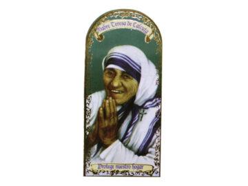 Madre Teresa de Calcuta 3x7cm Imán Capilla de cartón