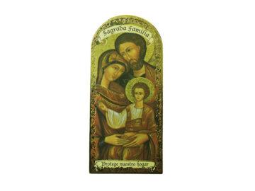 Sagrada Familia 3x7cm Imán Capilla de cartón