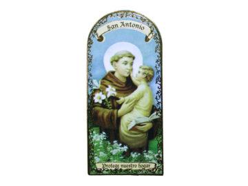San Antonio 3x7cm Imán Capilla de cartón