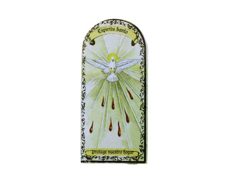 Espíritu Santo 3x7cm Imán Capilla de cartón