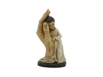 Estatua Yeso Artistico Providencia mediana 16cm - frente